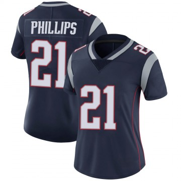 Women's Nike New England Patriots Adrian Phillips Navy Team Color Vapor Untouchable Jersey - Limited