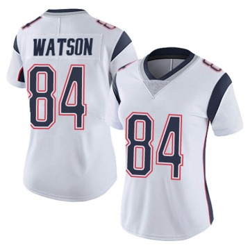 Women's Nike New England Patriots Benjamin Watson White Vapor Untouchable Jersey - Limited