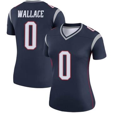 Women's Nike New England Patriots Courtney Wallace Navy Jersey - Legend