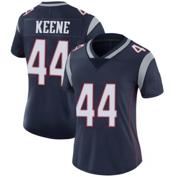 Women's Nike New England Patriots Dalton Keene Navy 100th Vapor Jersey - Limited