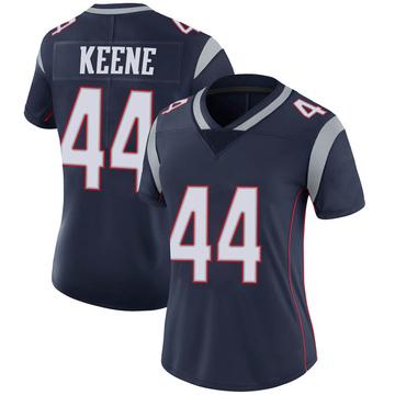 Women's Nike New England Patriots Dalton Keene Navy Team Color Vapor Untouchable Jersey - Limited
