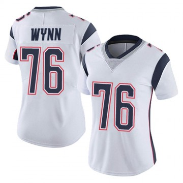 Women's Nike New England Patriots Isaiah Wynn White Vapor Untouchable Jersey - Limited