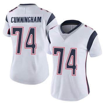 Women's Nike New England Patriots Korey Cunningham White Vapor Untouchable Jersey - Limited