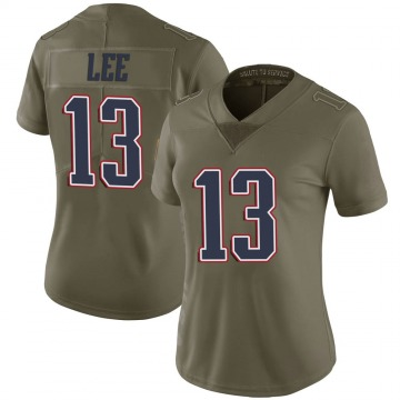 Women's Nike New England Patriots Marqise Lee Green 2017 Salute to Service Jersey - Limited