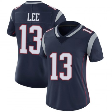 Women's Nike New England Patriots Marqise Lee Navy 100th Vapor Jersey - Limited