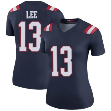 Women's Nike New England Patriots Marqise Lee Navy Color Rush Jersey - Legend