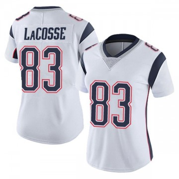 Women's Nike New England Patriots Matt LaCosse White Vapor Untouchable Jersey - Limited