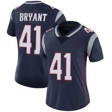 Women's Nike New England Patriots Myles Bryant Navy 100th Vapor Jersey - Limited