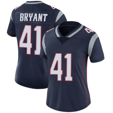 Women's Nike New England Patriots Myles Bryant Navy Team Color Vapor Untouchable Jersey - Limited