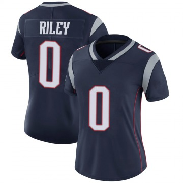 Women's Nike New England Patriots Sean Riley Navy 100th Vapor Jersey - Limited