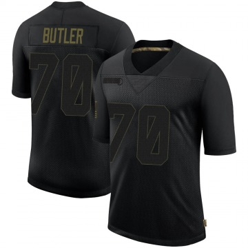 Youth Nike New England Patriots Adam Butler Black 2020 Salute To Service Jersey - Limited