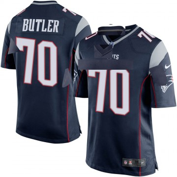 Youth Nike New England Patriots Adam Butler Navy Blue Team Color Jersey - Game