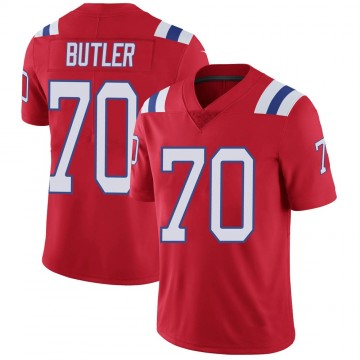 Youth Nike New England Patriots Adam Butler Red Vapor Untouchable Alternate Jersey - Limited