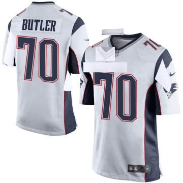 Youth Nike New England Patriots Adam Butler White Jersey - Game