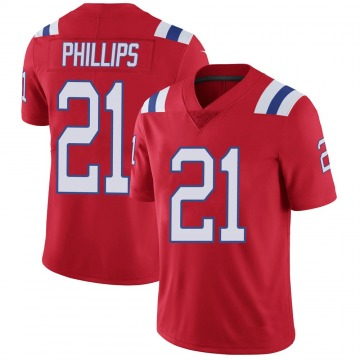 Youth Nike New England Patriots Adrian Phillips Red Vapor Untouchable Alternate Jersey - Limited