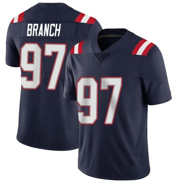 Youth Nike New England Patriots Alan Branch Navy Team Color Vapor Untouchable Jersey - Limited