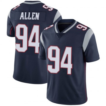 Youth Nike New England Patriots Beau Allen Navy 100th Vapor Jersey - Limited