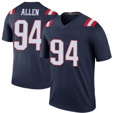 Youth Nike New England Patriots Beau Allen Navy Color Rush Jersey - Legend