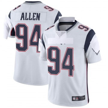 Youth Nike New England Patriots Beau Allen White Vapor Untouchable Jersey - Limited