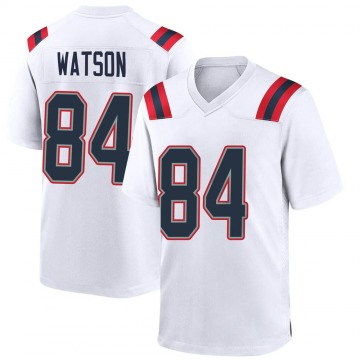 Youth Nike New England Patriots Benjamin Watson White Jersey - Game