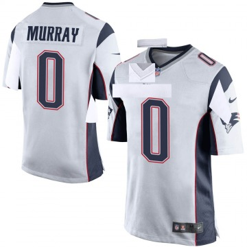 Youth Nike New England Patriots Bill Murray White Jersey - Game