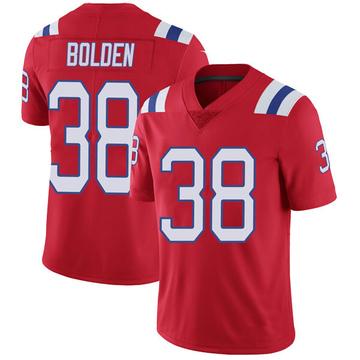 Youth Nike New England Patriots Brandon Bolden Red Vapor Untouchable Alternate Jersey - Limited