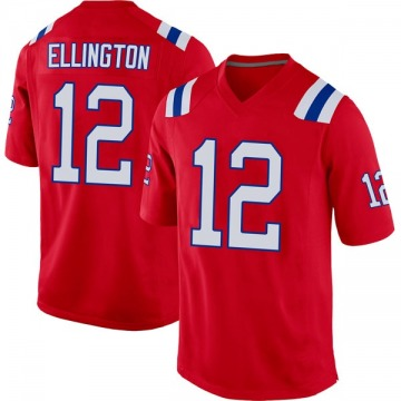 Youth Nike New England Patriots Bruce Ellington Red Alternate Jersey - Game