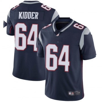 Youth Nike New England Patriots Caleb Kidder Navy Team Color Vapor Untouchable Jersey - Limited