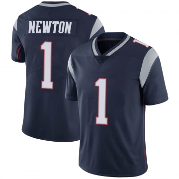 Youth Nike New England Patriots Cam Newton Navy 100th Vapor Jersey - Limited