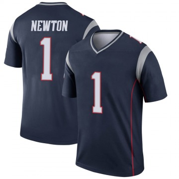 Youth Nike New England Patriots Cam Newton Navy Jersey - Legend