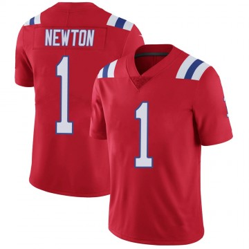 Youth Nike New England Patriots Cam Newton Red Vapor Untouchable Alternate Jersey - Limited