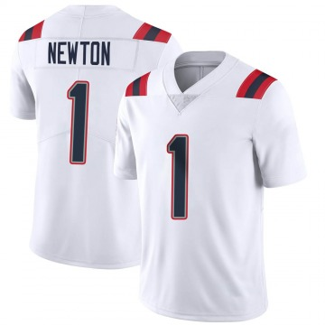 Youth Nike New England Patriots Cam Newton White Vapor Untouchable Jersey - Limited