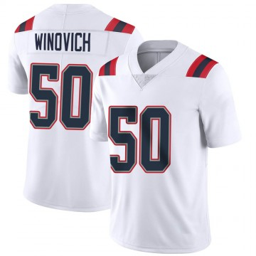 Youth Nike New England Patriots Chase Winovich White Vapor Untouchable Jersey - Limited