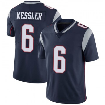 Youth Nike New England Patriots Cody Kessler Navy 100th Vapor Jersey - Limited