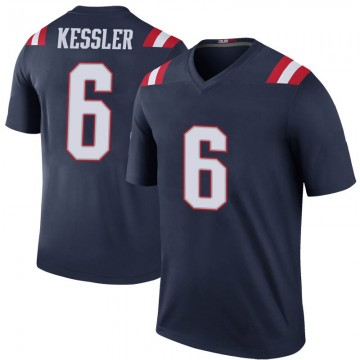 Youth Nike New England Patriots Cody Kessler Navy Color Rush Jersey - Legend