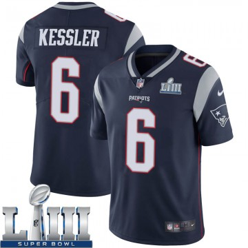 Youth Nike New England Patriots Cody Kessler Navy Team Color Super Bowl LIII Vapor Untouchable Jersey - Limited