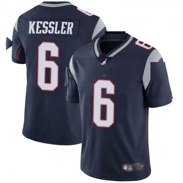 Youth Nike New England Patriots Cody Kessler Navy Team Color Vapor Untouchable Jersey - Limited