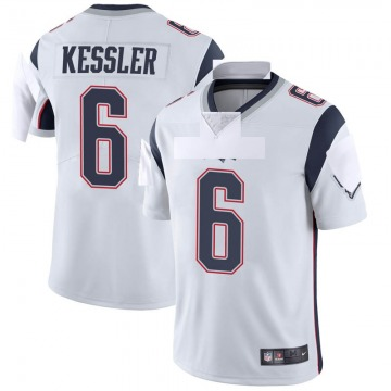Youth Nike New England Patriots Cody Kessler White Vapor Untouchable Jersey - Limited