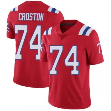 Youth Nike New England Patriots Cole Croston Red Vapor Untouchable Alternate Jersey - Limited