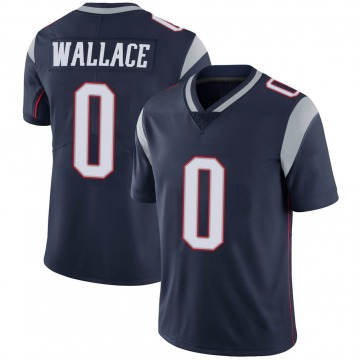 Youth Nike New England Patriots Courtney Wallace Navy 100th Vapor Jersey - Limited