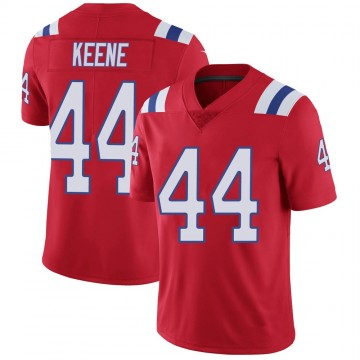 Youth Nike New England Patriots Dalton Keene Red Vapor Untouchable Alternate Jersey - Limited