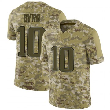Youth Nike New England Patriots Damiere Byrd Camo 2018 Salute to Service Jersey - Limited