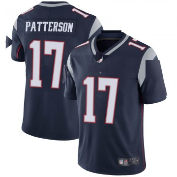 Youth Nike New England Patriots Damoun Patterson Navy Team Color Vapor Untouchable Jersey - Limited