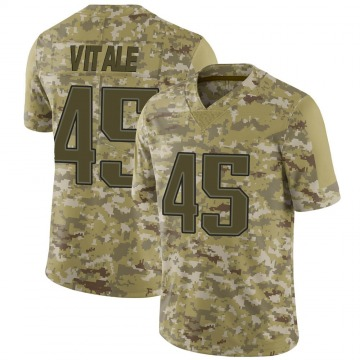 Youth Nike New England Patriots Danny Vitale Camo 2018 Salute to Service Jersey - Limited