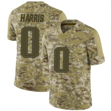 Youth Nike New England Patriots De'Jon Harris Camo 2018 Salute to Service Jersey - Limited