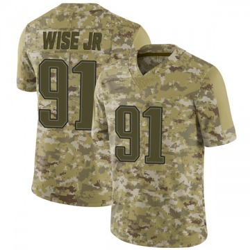 Youth Nike New England Patriots Deatrich Wise Jr. Camo 2018 Salute to Service Jersey - Limited