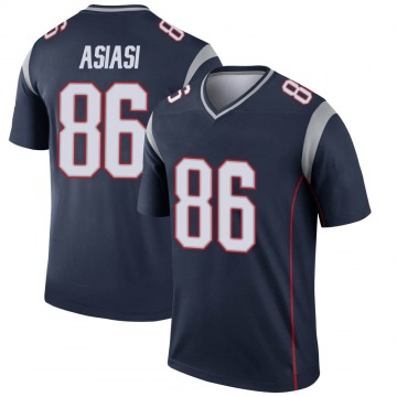 Youth Nike New England Patriots Devin Asiasi Navy Jersey - Legend
