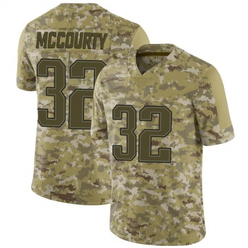 Youth Nike New England Patriots Devin McCourty Camo 2018 Salute to Service Jersey - Limited