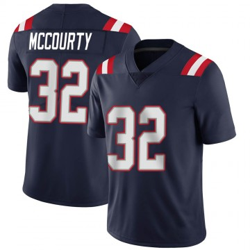 Youth Nike New England Patriots Devin McCourty Navy Team Color Vapor Untouchable Jersey - Limited