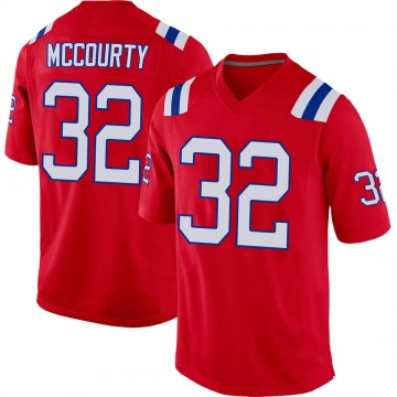 Youth Nike New England Patriots Devin McCourty Red Alternate Jersey - Game